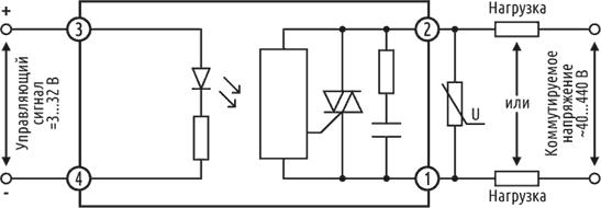 Схема подключения ESS1-DA