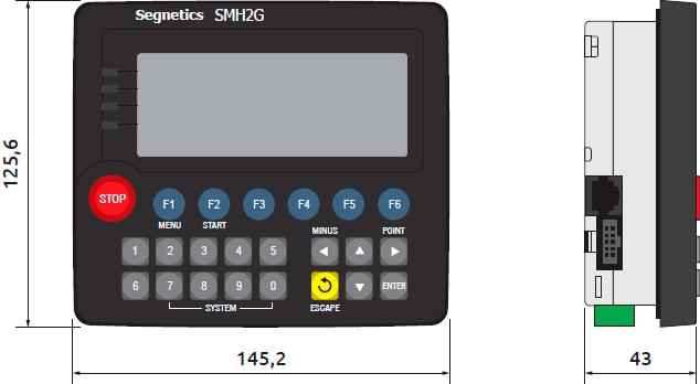 Smh 2g. Панельный стандартный контроллер. Segnetics. Кип-сервис.